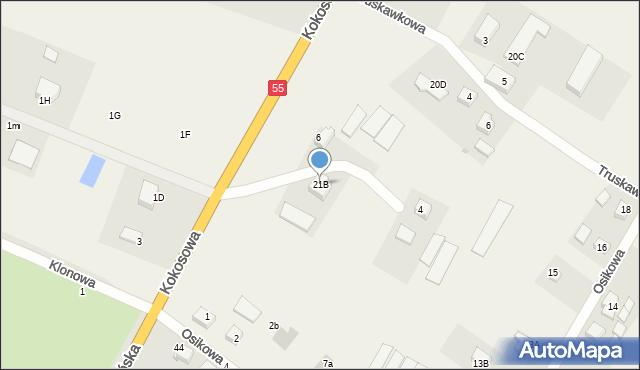Świerkocin, Świerkocin, 21A, mapa Świerkocin