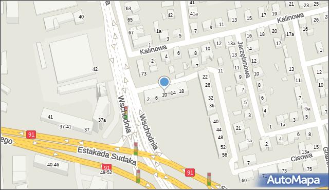 Toruń, Świerkowa, 10, mapa Torunia
