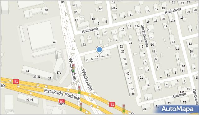 Toruń, Świerkowa, 12, mapa Torunia