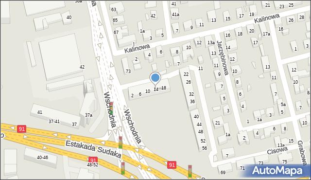 Toruń, Świerkowa, 14, mapa Torunia