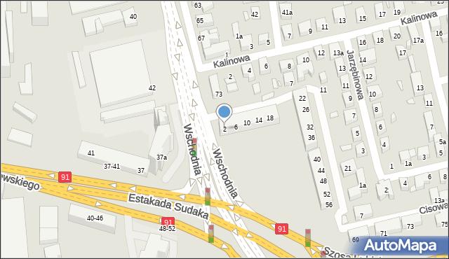 Toruń, Świerkowa, 2, mapa Torunia