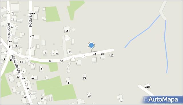 Tyczyn, św. Katarzyny, 19, mapa Tyczyn