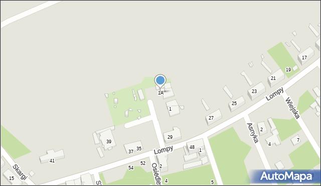 Zabrze, św. Filipa, 1A, mapa Zabrza