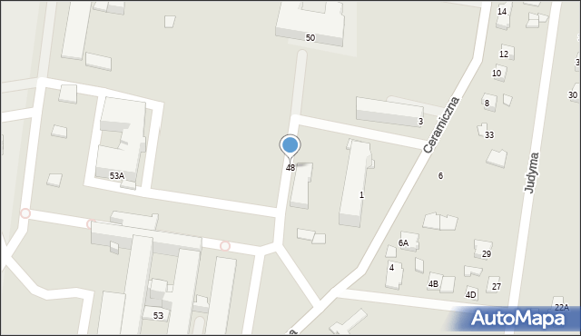 Chełm, Szpitalna, 48, mapa Chełma