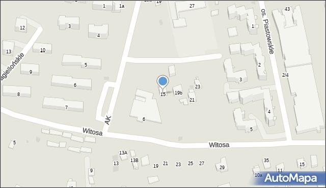 Dobczyce, Szkolna, 15, mapa Dobczyce