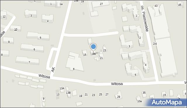 Dobczyce, Szkolna, 19b, mapa Dobczyce