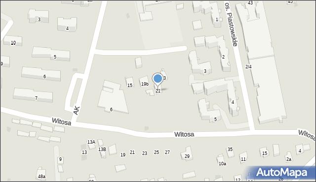 Dobczyce, Szkolna, 21, mapa Dobczyce