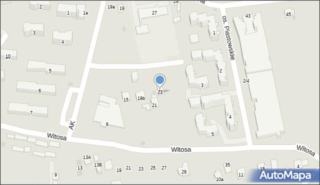Dobczyce, Szkolna, 23, mapa Dobczyce