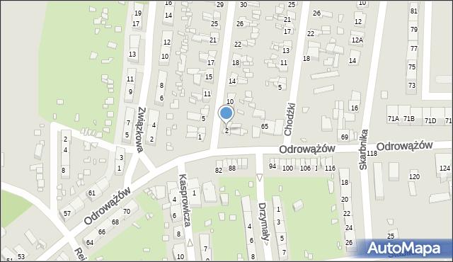 Gliwice, Szybowa, 2, mapa Gliwic