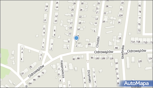 Gliwice, Szybowa, 4, mapa Gliwic