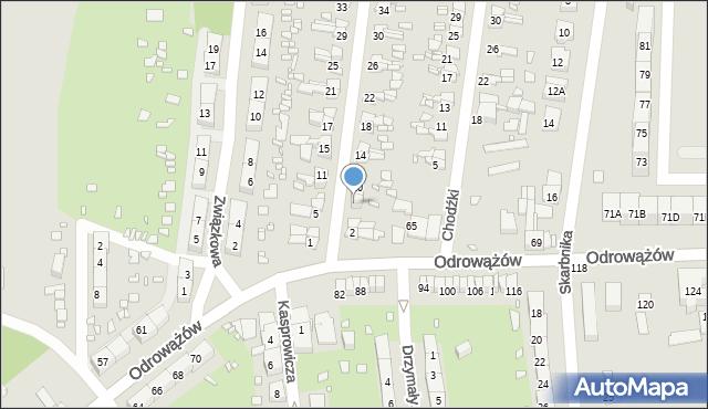 Gliwice, Szybowa, 6, mapa Gliwic