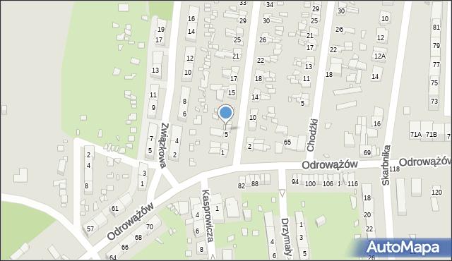 Gliwice, Szybowa, 7, mapa Gliwic
