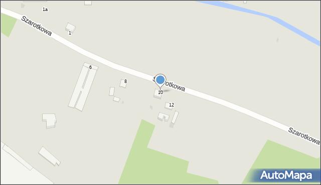 Grudziądz, Szarotkowa, 10, mapa Grudziądza