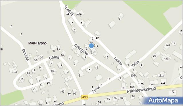 Grudziądz, Sztumska, 4, mapa Grudziądza