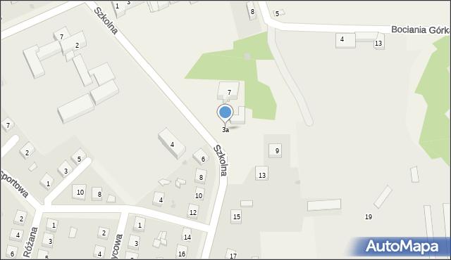 Kolonia Poczesna, Szkolna, 3a, mapa Kolonia Poczesna