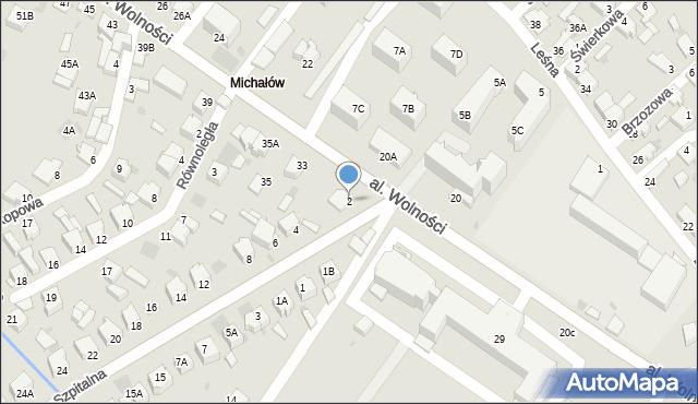 Myszków, Szpitalna, 2, mapa Myszków