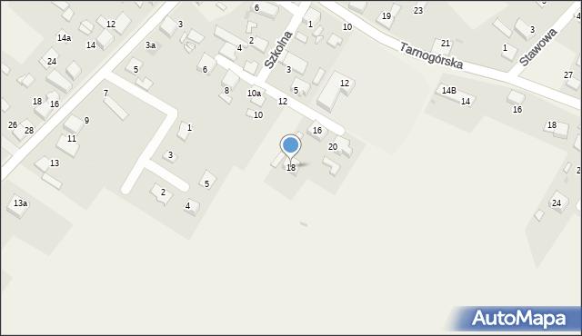 Potępa, Szkolna, 18, mapa Potępa