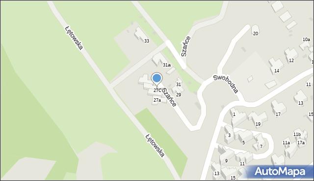 Przemyśl, Szańce, 27C, mapa Przemyśla