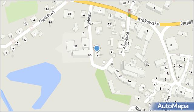 Przeworsk, Szkolna, 5, mapa Przeworsk