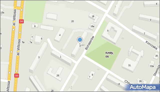 Rzeszów, Szarych Szeregów, 2, mapa Rzeszów