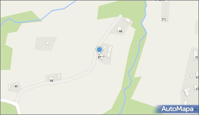 Szczepanowice, Szczepanowice, 87, mapa Szczepanowice
