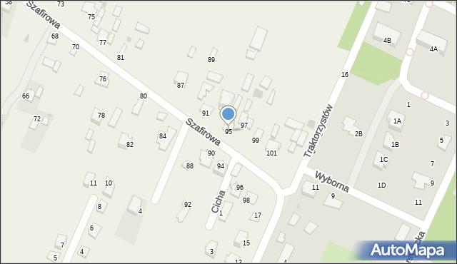 Wacyn, Szafirowa, 95, mapa Wacyn