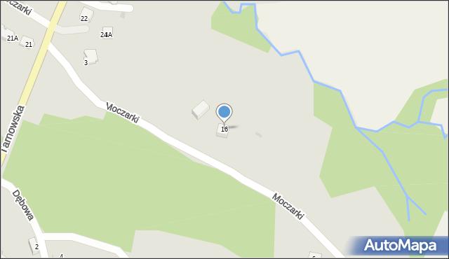 Limanowa, Tarnowska, 16, mapa Limanowa