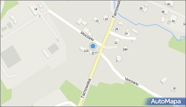 Limanowa, Tarnowska, 21, mapa Limanowa