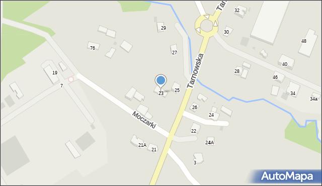 Limanowa, Tarnowska, 23, mapa Limanowa