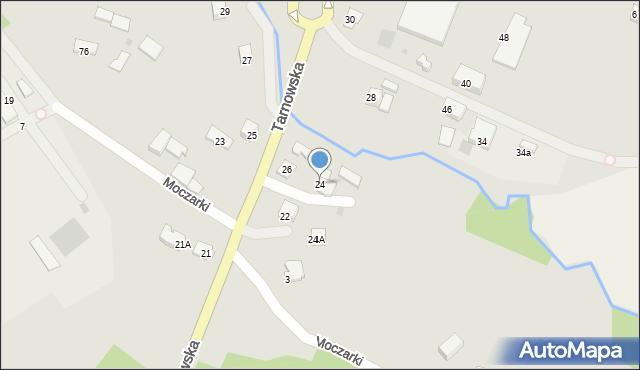 Limanowa, Tarnowska, 24, mapa Limanowa