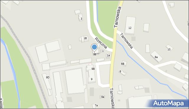 Limanowa, Tarnowska, 98, mapa Limanowa