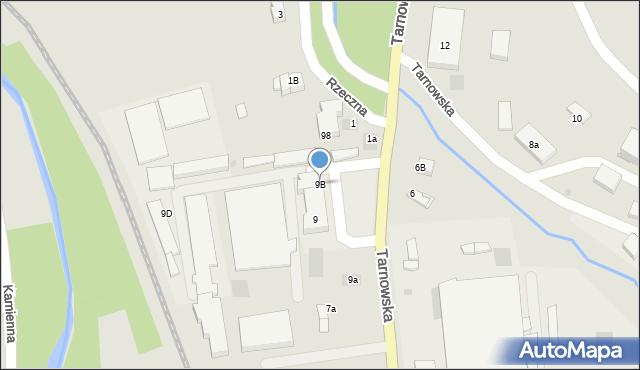Limanowa, Tarnowska, 9B, mapa Limanowa