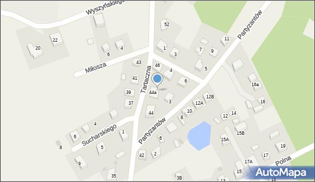 Luzino, Tartaczna, 77A, mapa Luzino