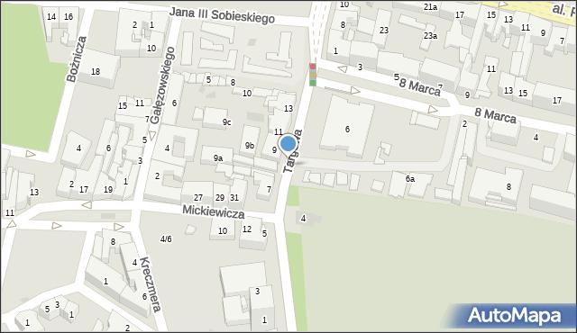 Rzeszów, Targowa, 5a, mapa Rzeszów