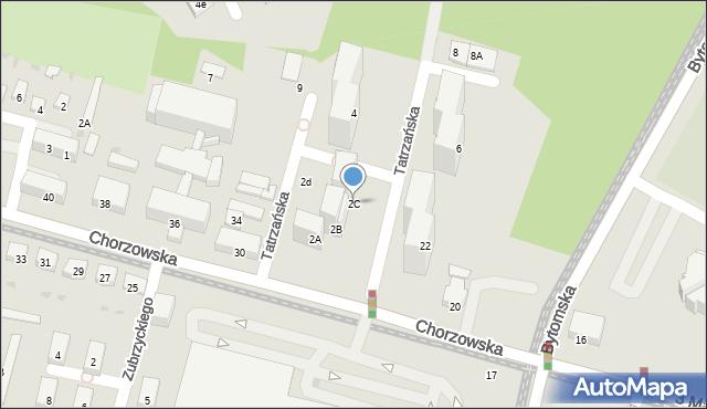 Świętochłowice, Tatrzańska, 2C, mapa Świętochłowice