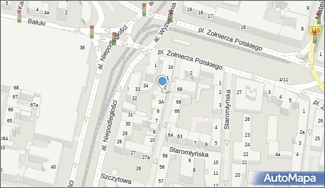 Szczecin, Tkacka, 2A, mapa Szczecina