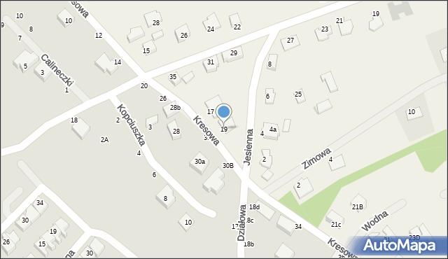 Grębocin, Toruńska, 19, mapa Grębocin
