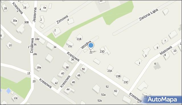 Grębocin, Toruńska, 21, mapa Grębocin
