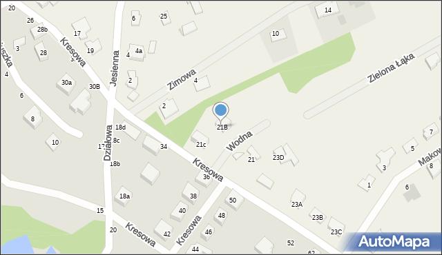 Grębocin, Toruńska, 21B, mapa Grębocin