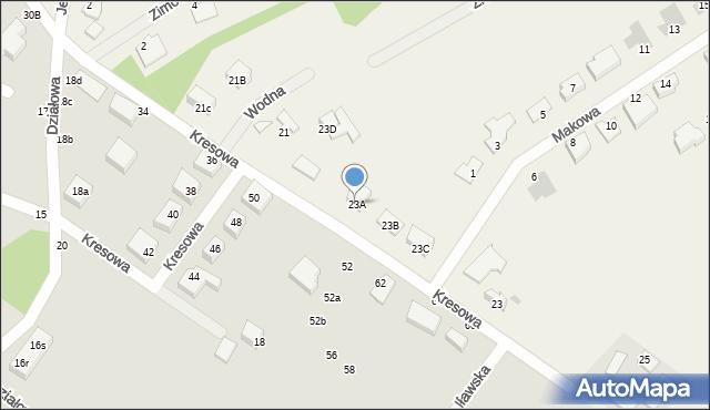 Grębocin, Toruńska, 23A, mapa Grębocin