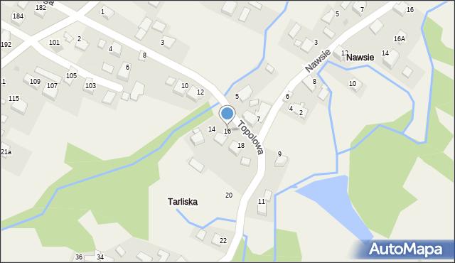Przeciszów, Topolowa, 16, mapa Przeciszów