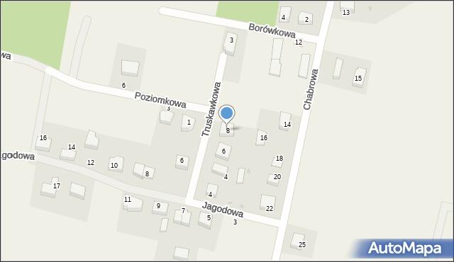 Luzino, Truskawkowa, 8, mapa Luzino
