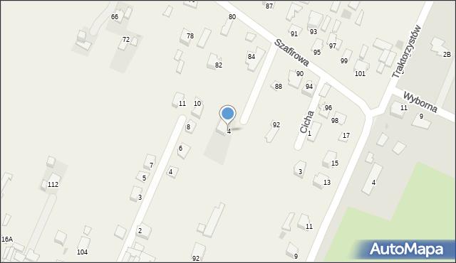 Wacyn, Turkusowa, 4, mapa Wacyn
