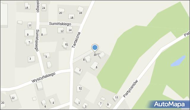 Luzino, Twardowskiego Jana, ks., 10, mapa Luzino