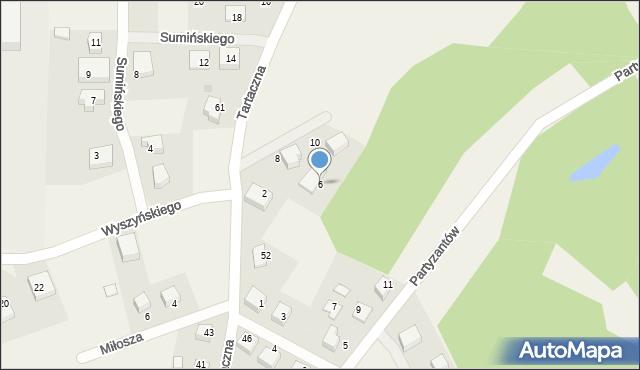 Luzino, Twardowskiego Jana, ks., 6, mapa Luzino