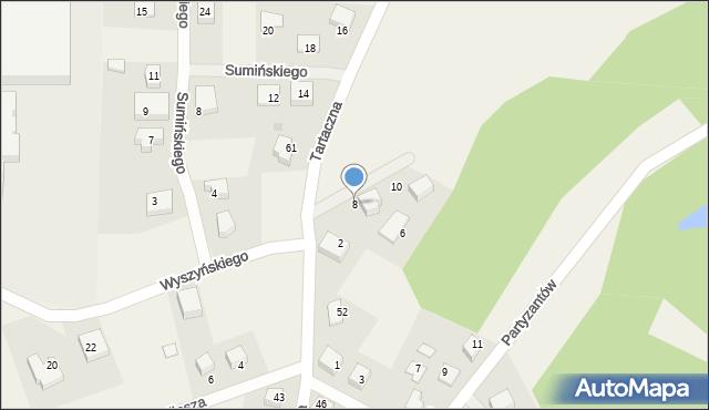 Luzino, Twardowskiego Jana, ks., 8, mapa Luzino