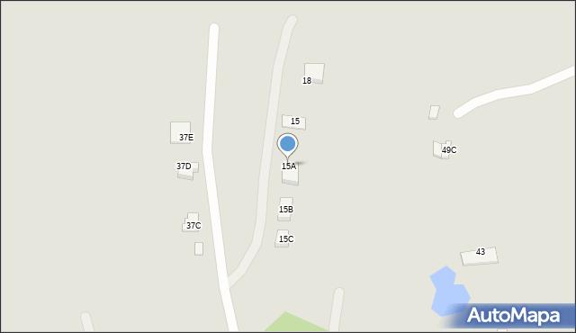 Chełm, Ułanów, 15A, mapa Chełma