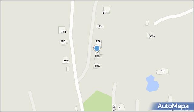 Chełm, Ułanów, 15B, mapa Chełma