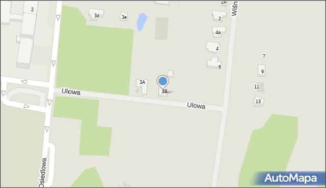Miękinia, Ulowa, 9, mapa Miękinia