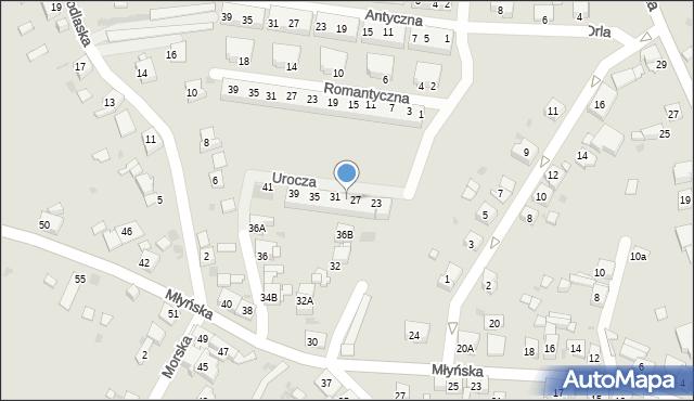 Ruda Śląska, Urocza, 29, mapa Rudy Śląskiej